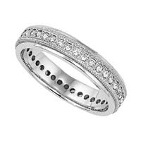 Click to view album: Platinum Diamond Eternity Rings